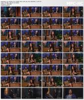 Lea Michele @ The Tonight Show with Jay Leno | December 7 2011 | ReUp