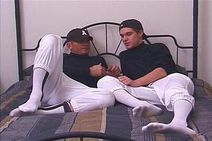 Awesomeinterracial.com- Older Dude Fucks His Younger Team Mate