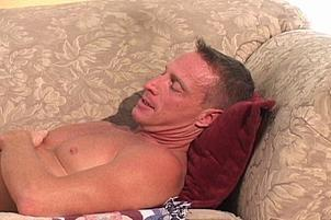 Awesomeinterracial.com- Older Gent Rides Young Brown Stud_s Cock