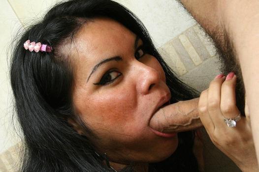 Tranny.com- Mireya_s Trans Titties Get Splattered With Cum