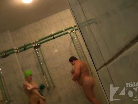 Hidden-Zone.com- Sh910# A young girl soaping her naked body and rubbed with a washcloth. The actual voyeur video o