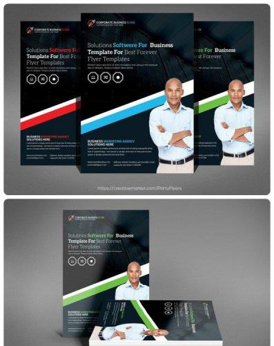 Agency Corporate Flyer Template