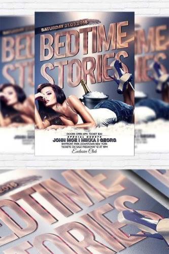 Bedtime Stories - Flyer Template