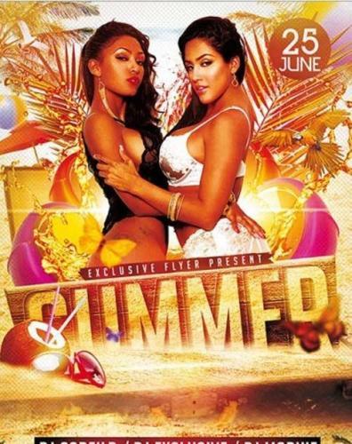 Summer Premium Flyer Template