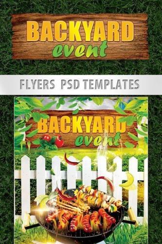 Backyard Event PSD Template