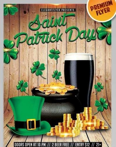 Saint Patrick Day Flyer PSD Template