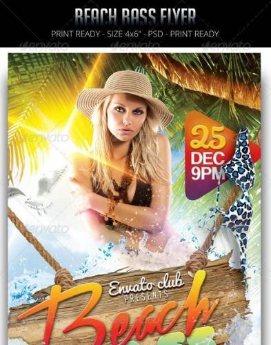 Beach Bass Flyer 8758441