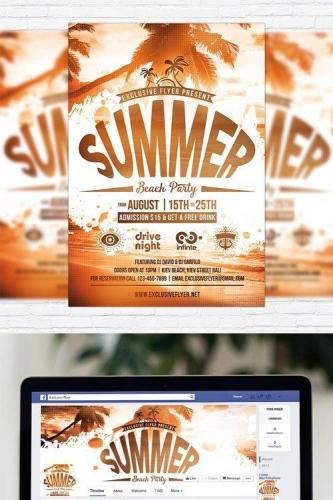 Summer Beach Party Vol.4 - Flyer Template