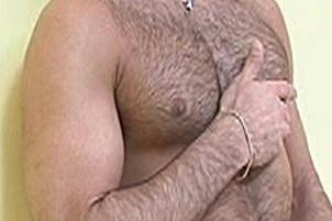Awesomeinterracial.com- Hairy Alpha Male Jerald Jerks Himself