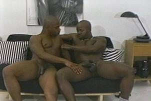 Awesomeinterracial.com- Old Black Guy Fucked By Hot Younger Stud