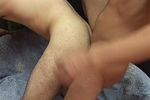 Awesomeinterracial.com- Submissive Gay Stud Loves Eating Cum