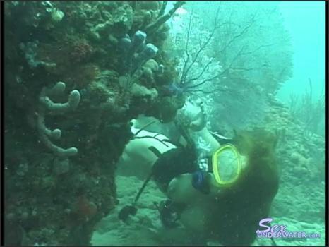 Sexunderwater.com- Scuba Dears - Reef 3
