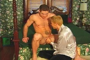Awesomeinterracial.com- Effeminate Queer Nailed By Muscle Stud