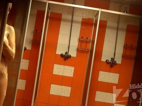Hidden-Zone.com- Sh1148# Women are taking a shower after a workout. Great shot hidden cam shower. Our cameraman fil