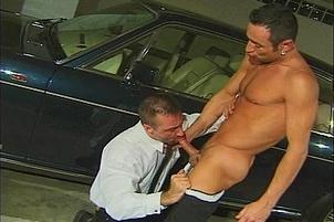 Awesomeinterracial.com- Gay Hunks Love Licking Up Cum