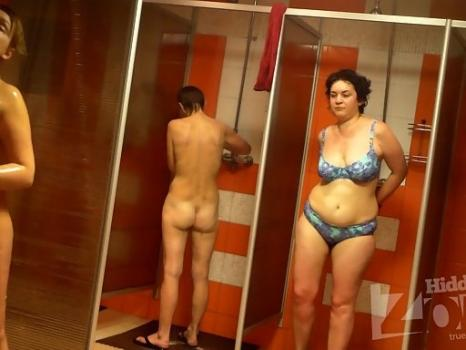 Hidden-Zone.com- Sh1163# Girls and women are going to take a shower after a workout. Our hidden camera shoots as th