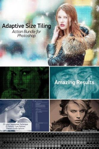 Adaptive Size Tiling Action Bundle