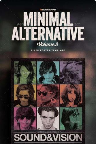 Minimal Alternative Flyer-Poster Vol. 3 240212