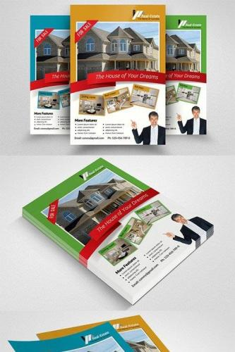 Real Estate Agency PSD Flyer 553978