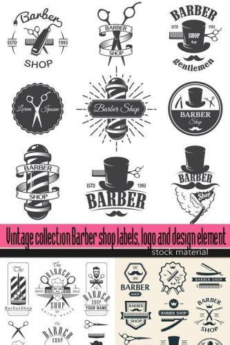 Vintage collection design element
