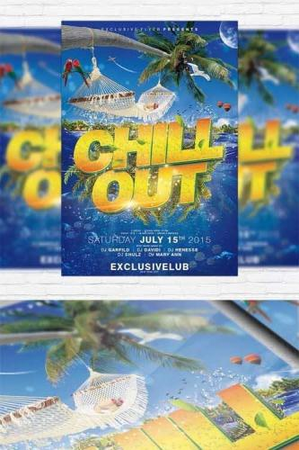 Chill Out Party - Flyer Template