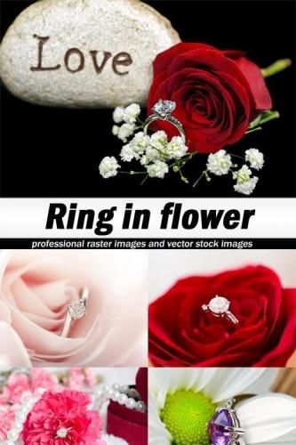Ring in flower