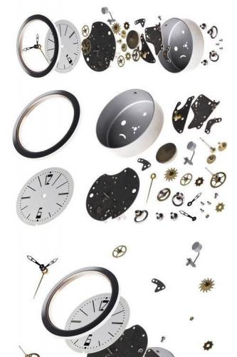 Disassembled the Clock