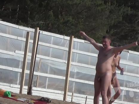 Hidden-Zone.com- Nu1334# nude beach voyeur camera follows a young girl. She elastic tits and beautiful figure. Male