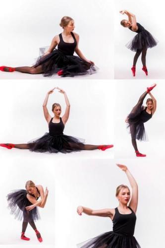 Blonde Young Beautiful Ballet