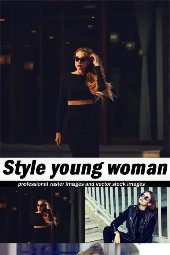 Style young woman