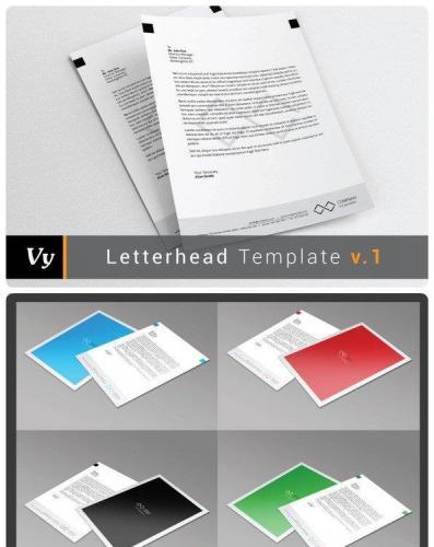Letterhead Template v01