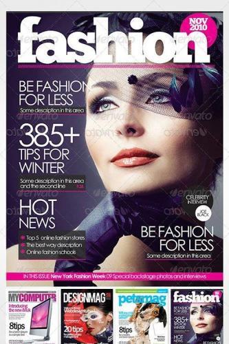 Magazine Cover Templates 136168