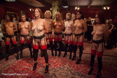 Kink_com- Masquerade Orgy with Nine Slaves,100 Horny Guests_Part One