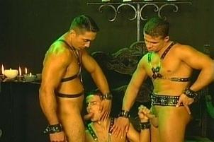 Awesomeinterracial.com- Intense Gay Fetish Threesome With Naughty Men
