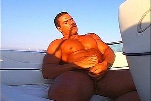 Awesomeinterracial.com- Male Masturbation on the High Seas