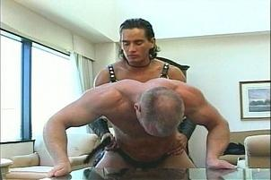 Awesomeinterracial.com- Jeff Palmer Dresses Up In Leather Gear
