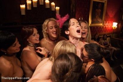 Kink_com- Masquerade Orgy with Nine Slaves,100 Horny Guests_Part Three