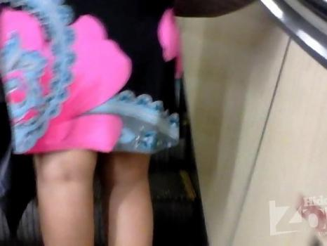 Hidden-Zone.com- Up1952# Tanned brunette in a short dress. Plump girl with big ass in white panties. Our operator w
