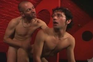 Awesomeinterracial.com- Hapless Italian Stud Reamed In Back Room Of After-Hours Club