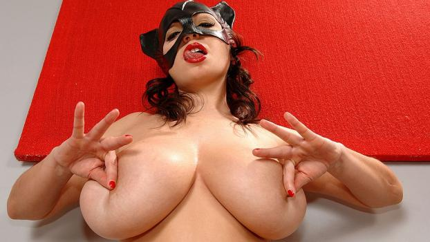 DDFBusty.com- Black cat for your ball sack!