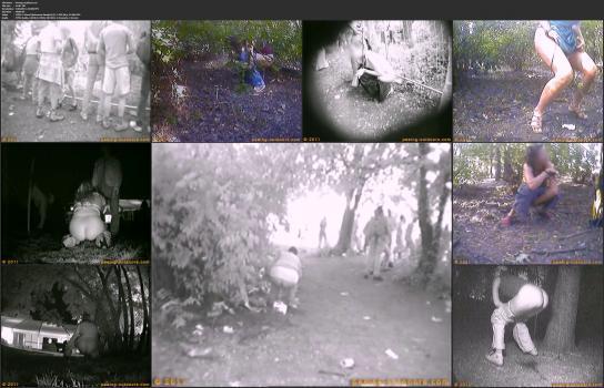 Amatori tyalet - Peeing-outdoors