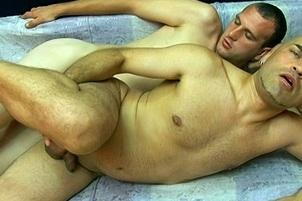 Awesomeinterracial.com- Two Guys Tonguing Some Serious Assholes