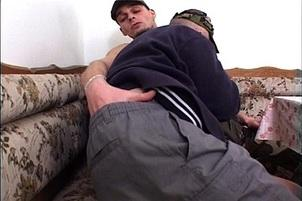 Awesomeinterracial.com- Army Studs Have Clandestine Anal Fuck