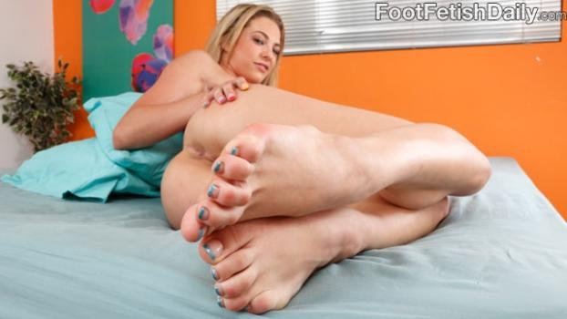 Footfetishdaily.com- Bailey Blue Living Photos