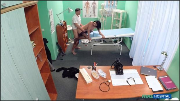 Fakehub.com- Doctor makes sure patient is well checked over
