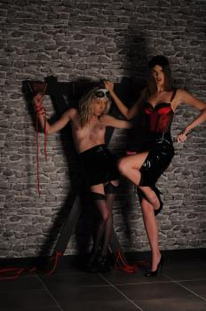 Bentbox.co- Bondage Teen in the dungeon (Mel and Cordia)