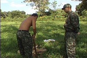 Awesomeinterracial.com- Gay Soldiers Work Hard And Play Harder
