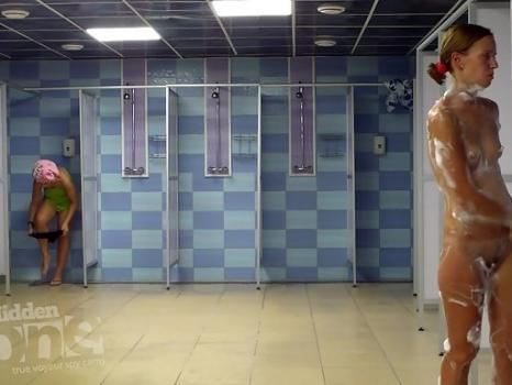 Hidden-Zone.com- Sh1312# Tanned beauties take a shower after a workout. Our ca
