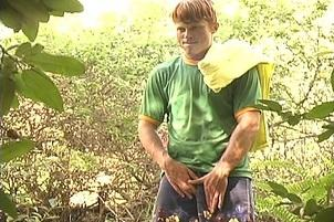 Awesomeinterracial.com- Uncut Guys Fucking in the Forest