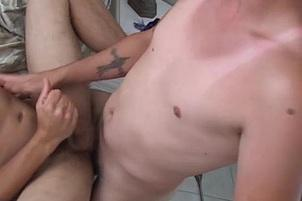 Awesomeinterracial.com- Horny Dorm Guys Try Nasty Anal Positions